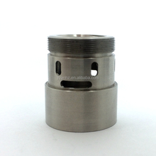 Metal processing stainless steel cnc auto parts bushing cnc drilling e-cig parts