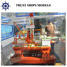Offshore Oil drilling rig model for business
