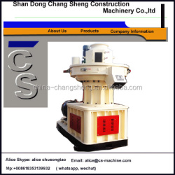 1218 vertical ring die 1.5t/h Wood Pellet Making Machine for sale