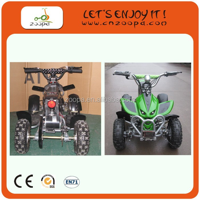 Cheap Electric electric atv 500w four wheel motorcycle For Adult