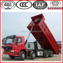 336hp new truck used truck price Sinotruk Howo 8x4 dump truck for sale