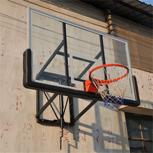 Transparent glass wall basketball backboard at wholesale price