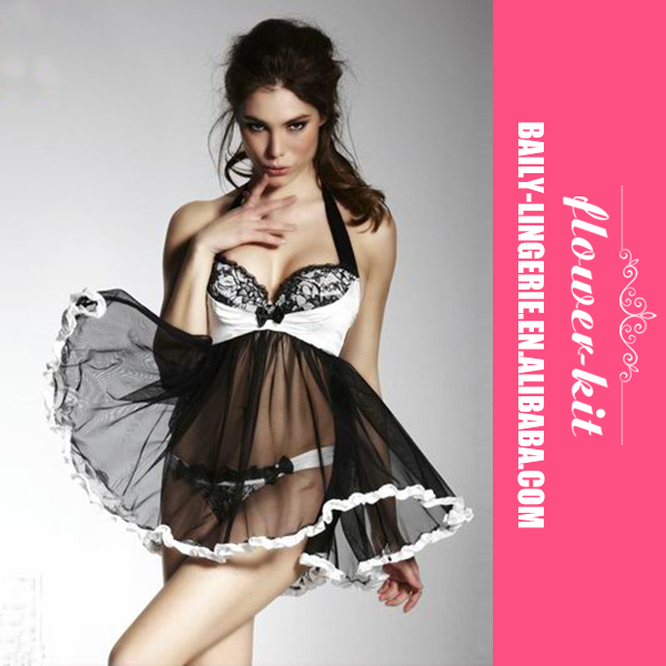 High quality customized promotion asian babydoll sexy adult lingerie