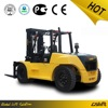 10 Ton Diesel Forklift Truck with Chinese XICHAI Engine or CUM-MINS engine by Hydraulic Automatic Transmission Three Meters