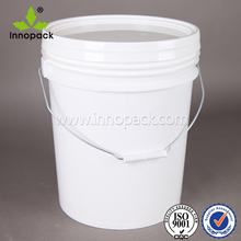 5 gallon/20 liter printed food grade plastic bucket with lid