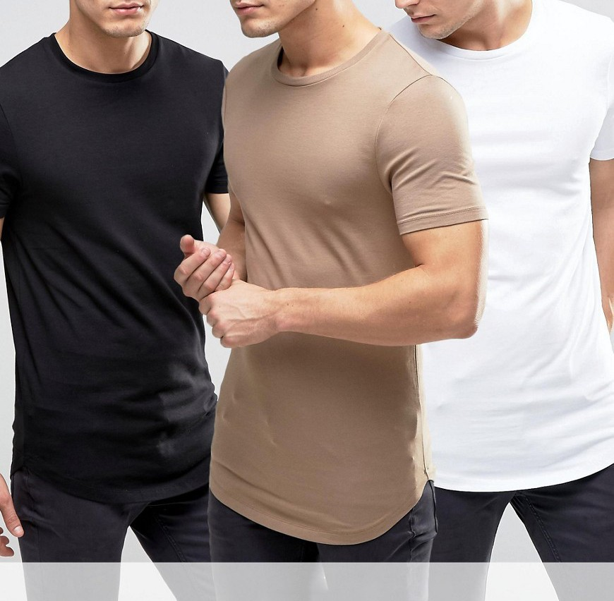 95 cotton 5 elastane t shirt longline t shirt cheap bulk for Cotton and elastane t shirts
