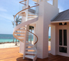outdoor used spiral staircase prices / exterior stair design / stair