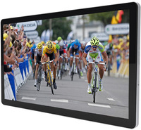 "Touch screen monitor 42"" PCAP FHD Widescreen interactive digital signage, 10 finger touch for SALONS IDS420"