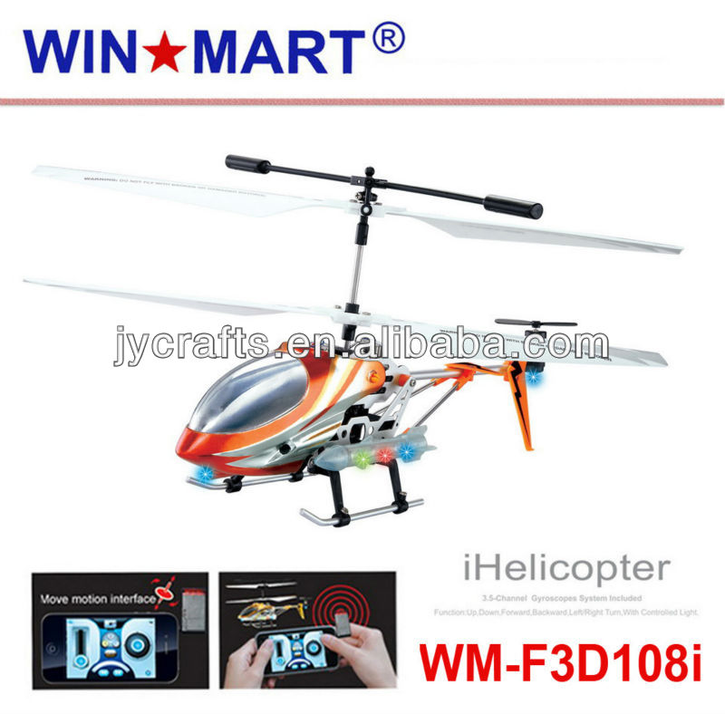 2013 3.5ch iphone controlled helicopter with gyro