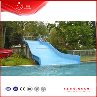 Blue Family Slide ,Fiberglass Swimming Pool Slide ,Water Park Slide