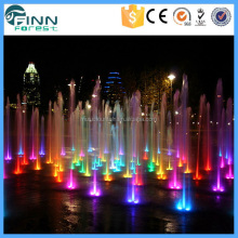 Outdoor Led Light Show Music Dancing Water Fountain Speaker