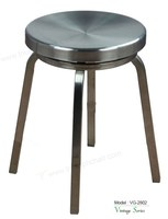 Triumph bar stools stainless steel stool / Aluminum stool polsihed / stainless steel kitchen stools