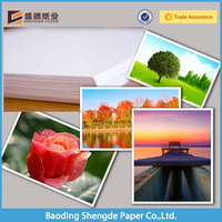 Factory Cast coated Double side photo paper for minilab printing