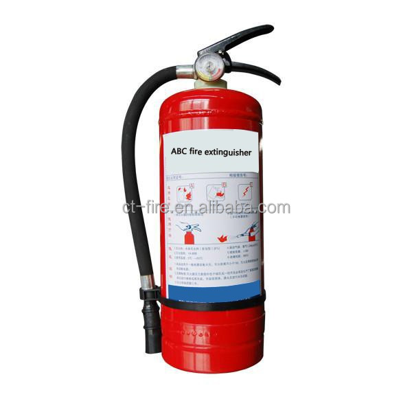 Portable types of 40% ABC dry powder fire extinguishers