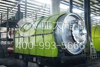 Best price waste tyre/plastic pyrolysis plant from Henan Asia-pacific manufacturer