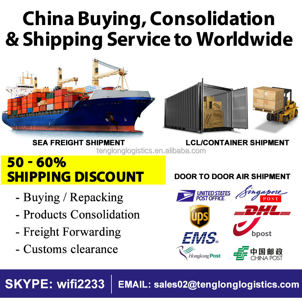 Cheapest China Consolidation and Shipping Service