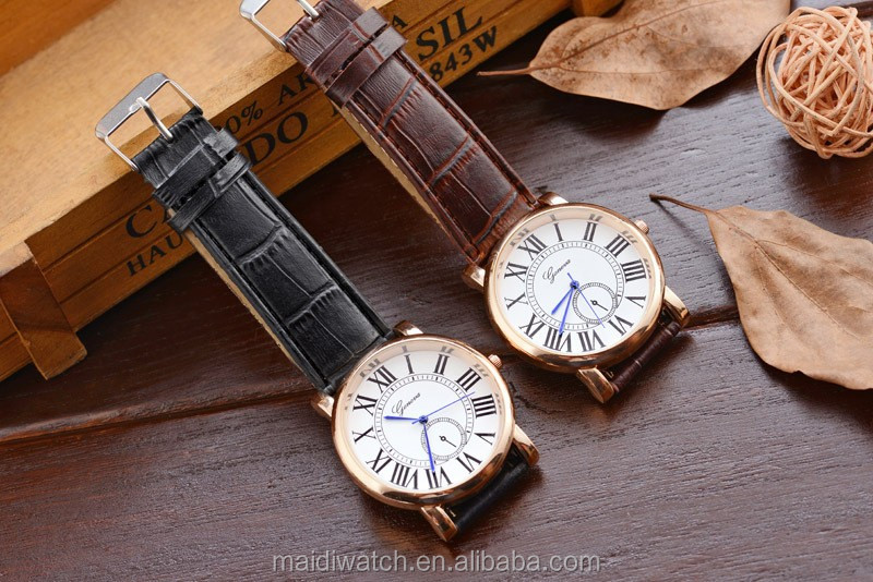 2015 Leather Men wristwatches Man relojes Hour Blue Ray Glass Quartz Watch Mens Watches Top Brand Luxury Casual Watches MW-20
