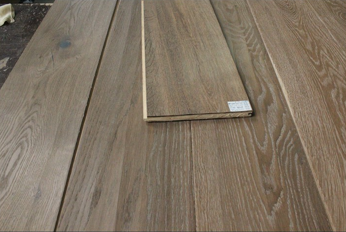 Weather resistant top quality solid wood and engineered wood floor, grey engineered wood floors