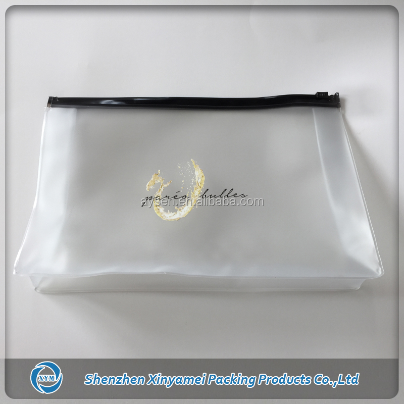 zip frosted PVC EVA plastic bikini packaging bags,wet bikini plastic polybag packaging,bikini swimsuit polybag packaging