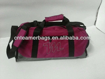 2013 Popular sports shoulder bag with shoes compartment