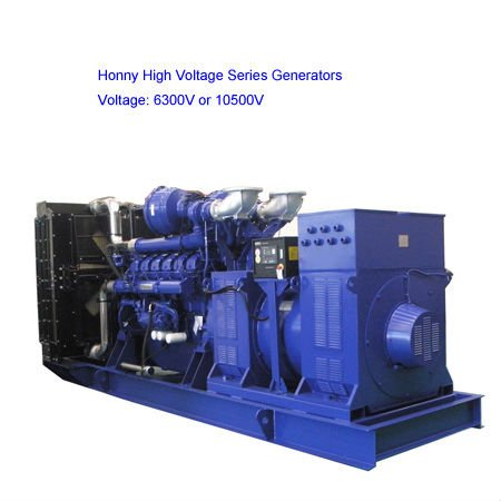 High Voltage Electric Diesel Set 5kV generator