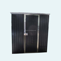 Prefabricated backyard steel garden sheds used for storage tools
