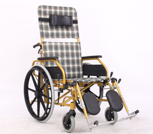 High Quality manual medical care wheel chair for disabled people