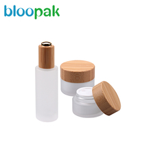 New cosmetic container cosmetics cream glass bottles and jars