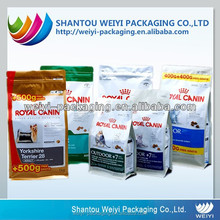 custom printing pet food bag/ dog food plastic packaging
