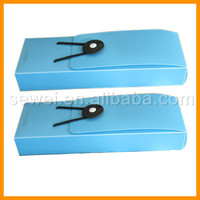 Wholesale Customized PP School Blue Plastic Pencil Box Case