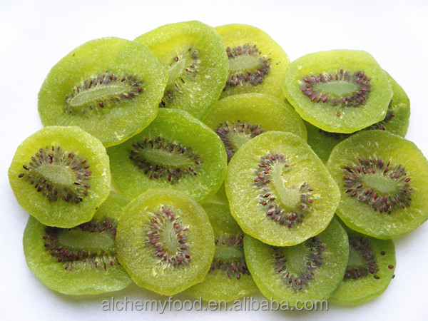 Non-GMO dried fruit a kiwi fruit