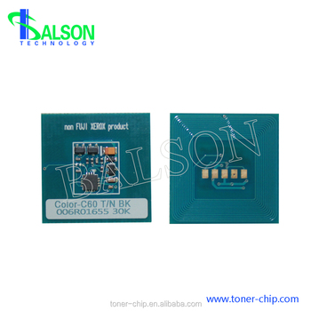 013R00663 013R00664 color cartridge reset chips for Xerox Color 550 560 drum chip
