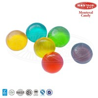 Colourful custom jelly gummy ball candy