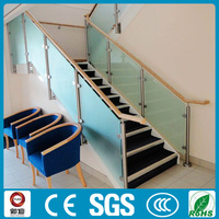 Glass Stainless Steel Railing For Deck and Stair