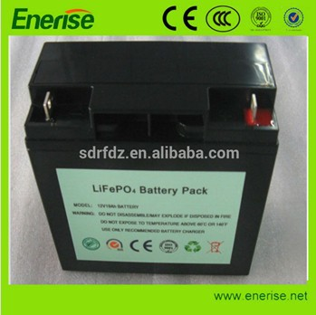 deep cycle battery pack 12v 18ah for Golftrolley/GolfCart/Solar lightings/Gliders