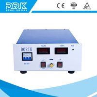 Air cooling high frequency adjustable voltage IGBT switching power supply