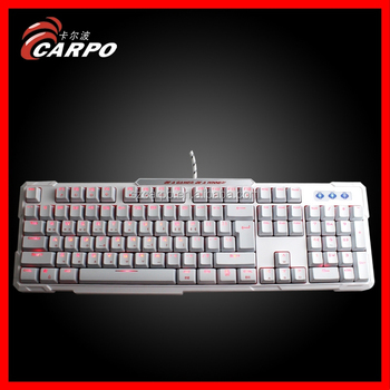 Real White mechanical keyboard filco with marquee from factory into market T-886