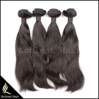 fish wire hair extension wholesale natural straight virgin malaysian humam hair extension for black women