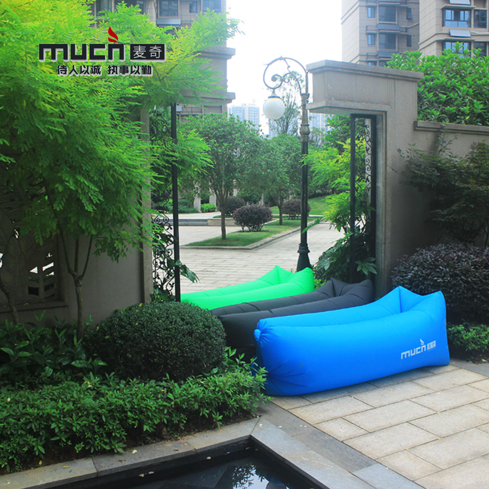 Quality and quantity assured amazing outdoor safe air filling cheap lazy air couch