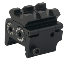 Mini 30mm Red Dot Laser Sight with Picatinny Rail for Pistol