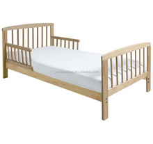 European Style Cheap Pine Wood Baby Cotbed Toddler Bed