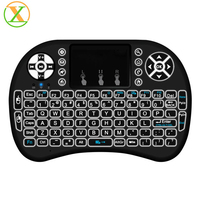 2017 New Hot 2.4G I8+ pro mini Wireless Keyboard Touch Pad mouse Backlit gaming Keyboard for HTPC Tablet Laptop PC Teclado