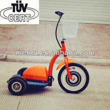 handicapped electric bicycle with rechargeable battery