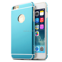 aluminum metal case for iphone 6\6plus , case with dust suckers