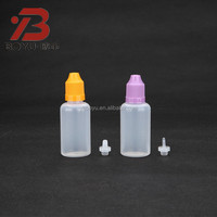 small plastic dropper e liquid bottle 10ml,15ml,20ml,30ml