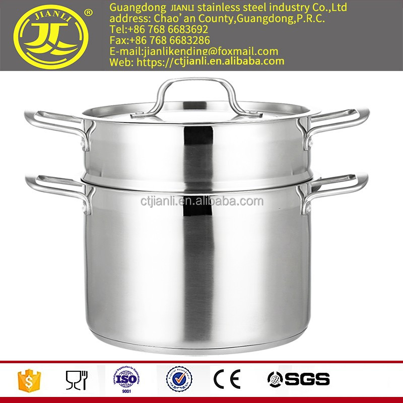 Palm restaurant cookware la sera cookware pots kitchenware stainless steel cookware with laser polish