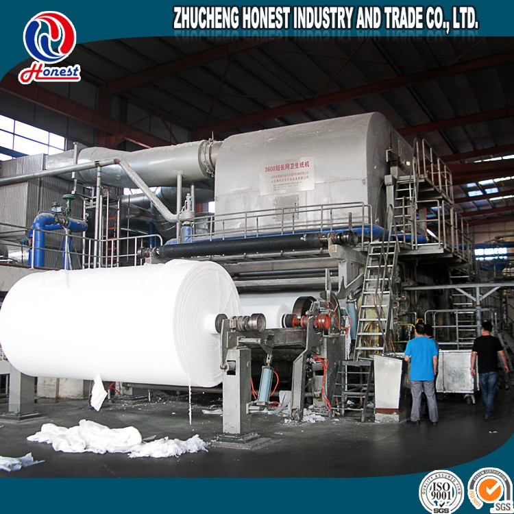 2016 China paper factory toilet paper manufacturing process, toilet paper manufacturing business plan
