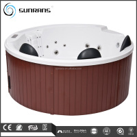 Outdoor spa indoor acrylic portable Balboa system round hot tub