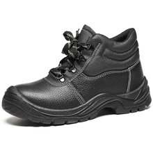 OEM Leather Steel Toe Anti-slip Work Shoes Pakistan