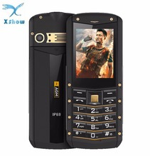 AGM M2 IP68 Waterproof 2.4inch 2G GSM Bar Phone Dual SIM Card Bluetooth 1970mAh FM Old man Student Child Business Keyboard Phone